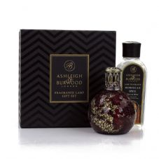 Ashleigh & Burwood Fragrance Lamp Gift Set -  Dragons Eye & Moroccan Spice Lamp Oil